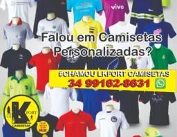 Camisetas personalizadas uniformes