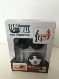 Flatball air soccer