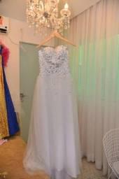 Vestido de Noiva/Debutante com Pedraria LUXO