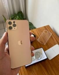 IPhone 11 Pro Max 64gb Gold / Aceito trocas apenas em iPhones