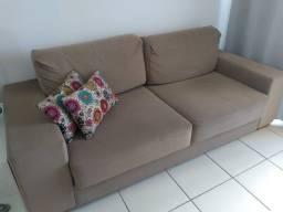 Sofá retrátil - 2,20m - estado de novo e confortável