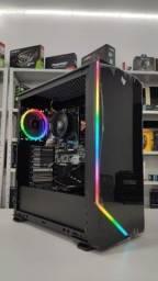 Pc Gamer NOVO - Ryzen 5 3400G - Até 12x / Garantia