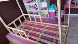 Mini cama montessoriana nova ENTREGO grátis