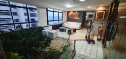 Ak.Apartamento Beira Mar,Mobiliado,4 Quartos,240M²(Calçadão)