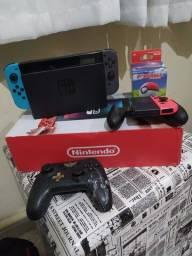 Nintendo switch neon completíssimo