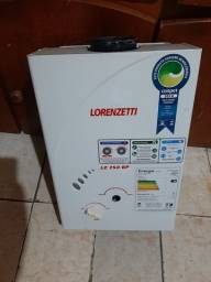Aquecedor Gas Lorenzetti 7.0 Lt Glp Lz 750bp<br><br>