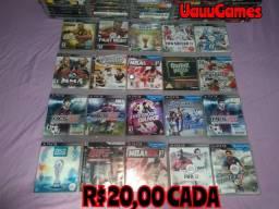 Jogos Originais de PlayStation 3 Entrego/Parcelo cartão