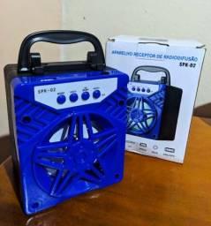 Caixinha de som Bluetooth potente!