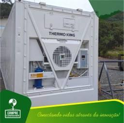 Container Reefer com maquinário revisado e com garantia