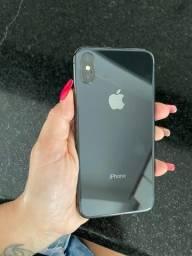 Iphone X - 64gb cinza