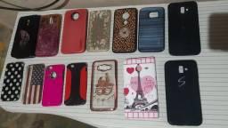 Vendo 14 capas de celular diversos