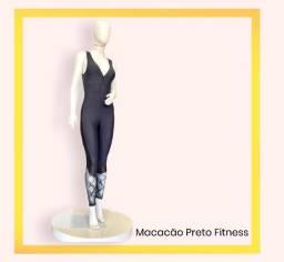 Macacão Fitness Preto