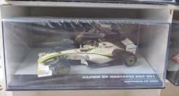 MINIATURA BRAWN GP MERCEDES BGP 001 RUBENS BARRICHELLO - AUSTRALIA GP 2009