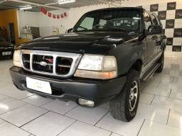 Ford Ranger Limited xlt cab dupla 2001 motor 2.5 turbo 4x4
