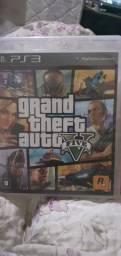 Gta 5 Grand Theft Auto Five Mídia Física PS3 +Mapa
