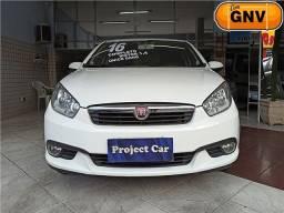 Fiat Grand Siena Attractive 1.4 Completo com GNV - Ent + Prest R$788