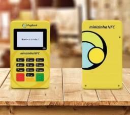 Minizinha NFC, está na hora de modernizar o seu negócio,  - Maquina de Cartão Pagseguro