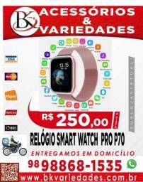 Relógio Smart Watch Oled / P70 - Loja BK Variedades