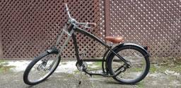 Bike estilo chopper americana