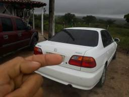 Civic ano 2000 completo emplacado - 2000