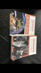 Livro de geografia mais de 10 livro de 350 por 150 reais