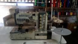 Maquina de costura colarete e overloque