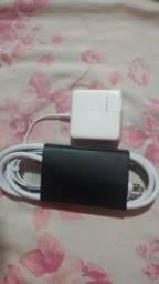 Carregador original Apple magsafe 2 de 45w para MacBook air