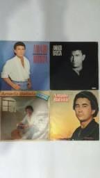 Coleção Com 4 Lps Amado Batista disco de vinil