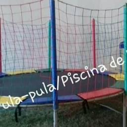 (disponível para domingo )pula-pula e piscina de bolinhas(todas as regiões)