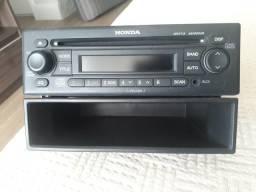 Auto CD Player + Porta Objetos Original Honda
