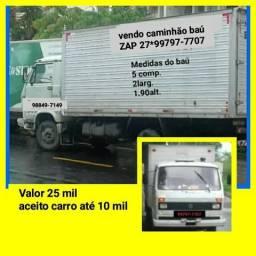 Vendo caminhão baú zap 99532-7107 - 1987