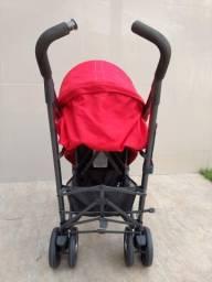 Carrinho de Bebê Lite Way 3 Basic Red Berry