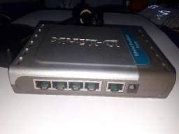 Roteador D-Link DI-604 com 5 Portas 10/100Mbp