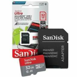 Promoção Cartão de memória 32Gb Ultra (entrega grátis)