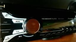 Aparelhos Automotivo Pioneer Com Bluetooth, aceita longa distância, controle próprio