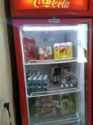Expositor da Coca cola funcionando perfeitamente!