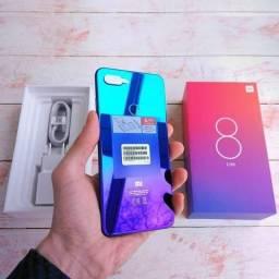 959a0a85339 Xiaomi mi 8 lite blue novo 64 gigas 1350 Reais Zap 991585376