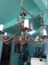 Lustre de bronze