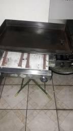 Fritadeira agua e óleo e chapa de lanche