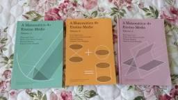 Coleção A Matemática do Ensino Médio, os 3 volumes completos