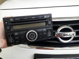 Radio Som Cd Players Original Nissan Versa Sv 2013 2014 Original