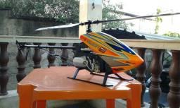 Título do anúncio: Lindo Helicoptero velocity 600 nitro em fibra de carbono.Automodelo,Aeromodelo,Drone.
