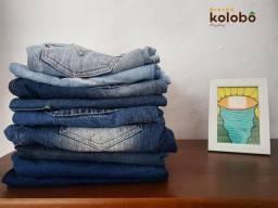 Brechó: calças femininas a partir de 8reais