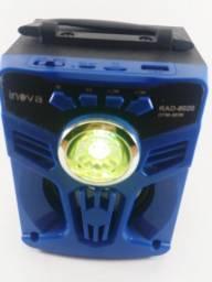 Caixa de Som Bluetooth - Sem Fio, usb e Fm com Frete Grátis