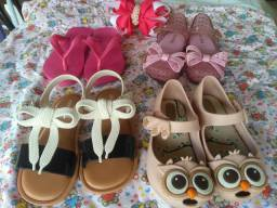 Lote de calçados infantil
