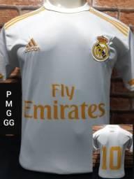 Camisa do Real Madrid e outros times Europeus