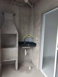Apartamento à venda com 1 dormitórios em Aviação, Praia grande cod:JG10789