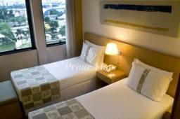 Flat no Holiday Inn Anhembi à venda para investimento, com 1 dormitório e 1 vaga!