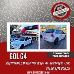 VW - VolksWagen Gol City (Trend) 1.0 Mi Total Flex 8V 2p 2013 Flex