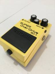 Pedal de guitarra super overdrive SD1 Boss
